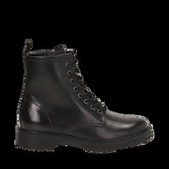 Amphibiens noirs en cuir, Primadonna, 167710802PENERO035, 001a