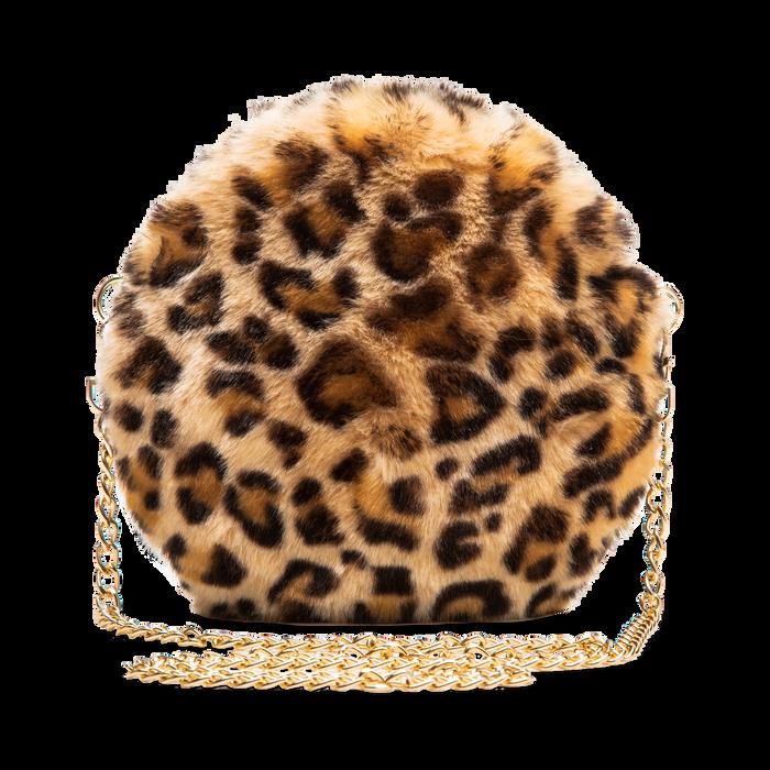 Tracollina leopard in eco-pelliccia, Saldi, 12B412001FULEOPUNI