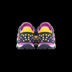 Sneakers blu color block, Scarpe, 122618834MFBLUE, 003 preview