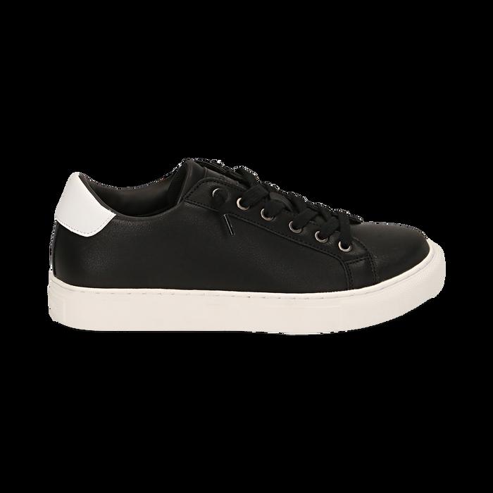 Zapatillas color negro, Zapatos, 162600308EPNERO035