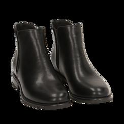 Botines Chelsea en color negro, tacón 4 cm , Primadonna, 160621678EPNERO037, 002a