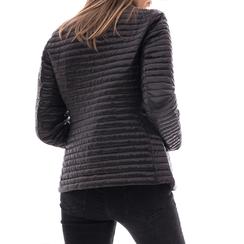 Piumino nero in nylon, Abbigliamento, 148500573NYNERO3XL, 002 preview
