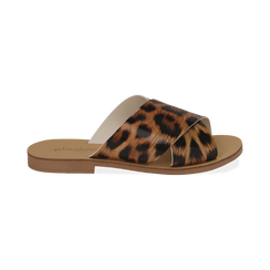 Mules flat leopard in vernice, Primadonna, 136767002VELEMA036, 001 preview