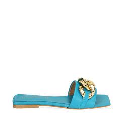 Zapatillas de cuero turquesa, Primadonna, 17L602031PETURC035, 001a