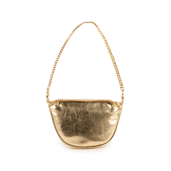 Petit sac doré en simili-cuir brillant, Sacs, 155122722LMOROGUNI, 003 preview