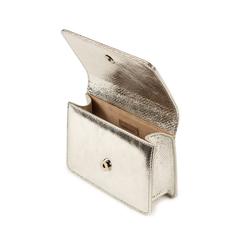 Borsa argento stampa vipera, Primadonna, 155122414EVARGEUNI, 004 preview