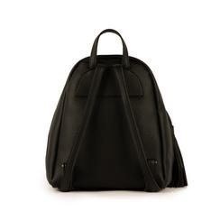 Sac à dos noir en simili-cuir, Sacs, 15D207940EPNEROUNI, 003 preview