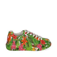 Baskets multicolores à imprimé exotique, Primadonna, 172621031EPMULT035, 001a