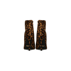 Stivaletti Bassi Leopardati in Microfibra, Scarpe, 122168615MFLEOP, 003 preview