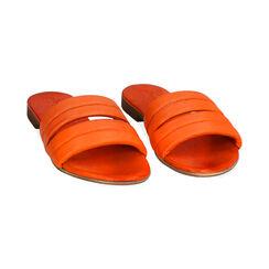 Ciabatte arancio in pelle, Primadonna, 177204903PEARAN035, 002 preview