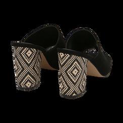 CALZATURA CIABATTE MICROFIBRA NERO, Zapatos, 154970855MFNERO035, 004 preview