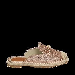 Slippers oro rosa glitter, Primadonna, 154951159GLRAOR035, 001a