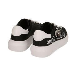 Sneakers bianche con corona, Primadonna, 172621011EPNERO035, 004 preview