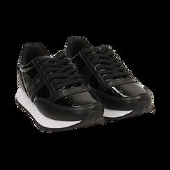 Sneakers nere in vernice, Primadonna, 162619079VENERO036, 002 preview