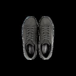 Sneakers grigie suola platform multistrato, Primadonna, 122818575MFGRIG037, 004 preview
