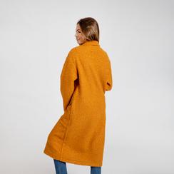 Cappotto lungo giallo lavorazione shearling, Abbigliamento, 12G750756TSGIAL, 003 preview