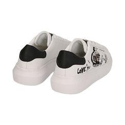 Sneakers nere con corona, Primadonna, 172621011EPBIAN035, 004 preview