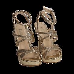 CALZATURA SANDALO SPECCHIO OROG, Chaussures, 152175011SPOROG038, 002a