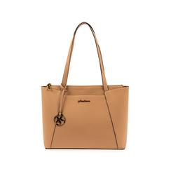 Maxi-bag nude in eco-pelle, Primadonna, 155768941EPNUDEUNI, 001 preview