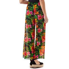 Pantalones estampados en flor, Primadonna, 17L571059TSFIORUNI, 002 preview