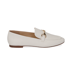Mocassini bianchi, Primadonna, 154939181EPBIAN041, 001 preview