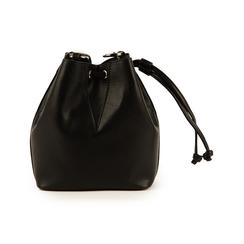 Mini secchiello nero , Borse, 152327401EPNEROUNI, 003 preview