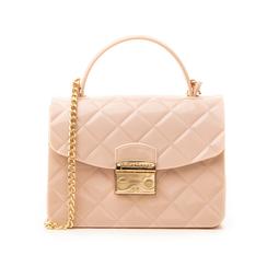 Mini-bag matelassé nude in pvc, Primadonna, 137402298PVNUDEUNI, 001 preview