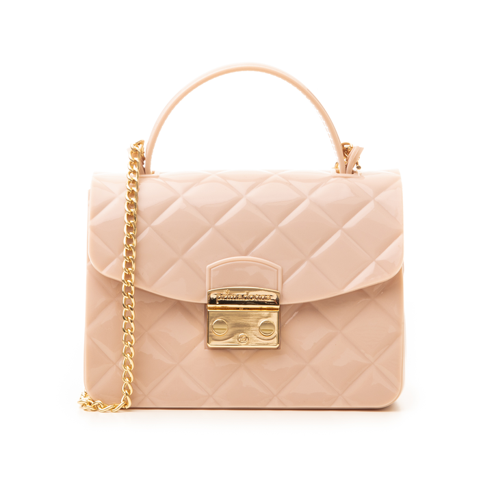 Mini-bag matelassé nude in pvc, Primadonna, 137402298PVNUDEUNI