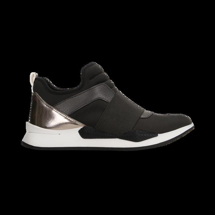 Sneakers nere in lycra con fascia elastica, Primadonna, 121617843LYNERO