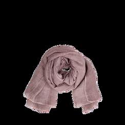 Pashmina rosa in tessuto , Abbigliamento, 14B404026TSROSA3XL, 002a