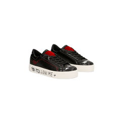 Sneakers nere con suola #followme, Scarpe, 122619062EPNERO, 002 preview
