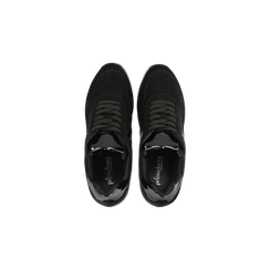 Sneakers nere zeppa platform, Scarpe, 122808661MFNERO, 004 preview