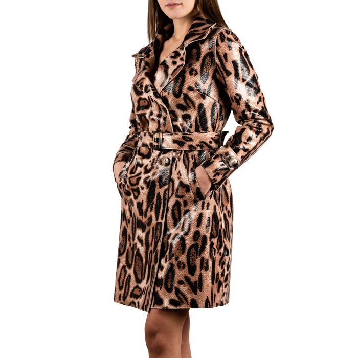 Gabardina leopardo, Primadonna, 15C909203EVLEOPM