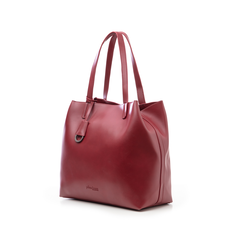 Borsa grande bordeaux in eco-pelle abrasivata, Borse, 143764100ABBORDUNI, 004 preview