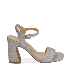 WOMEN SHOES SANDAL GLITTER ARGE, Chaussures, 154821491GLARGE035, 001a