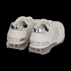 Baskets blanche en simili-cuir, Chaussures, 157311101EPBIAN035, 004 preview