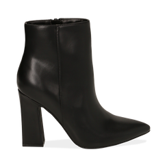 Ankle boots neri, tacco 10 cm , Primadonna, 164822754EPNERO035, 001 preview