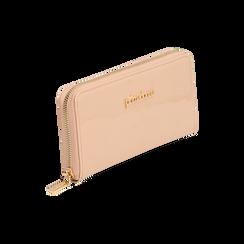Portafogli nude in vernice, Borse, 155122519VENUDEUNI, 002 preview