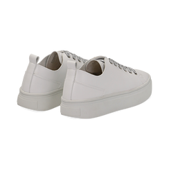 Sneakers bianche in eco-pelle, Scarpe, 132500778EPBIAN036, 004 preview
