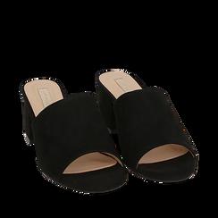 CALZATURA CIABATTE MICROFIBRA NERO, Zapatos, 152770341MFNERO035, 002a