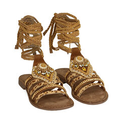 Sandales en daim marron, Primadonna, 17K807172CMMARR035, 002 preview