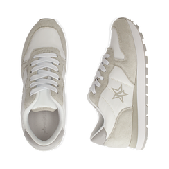 Sneakers en microfibra color blanco, Zapatos, 150620011MFBIAN036, 003 preview