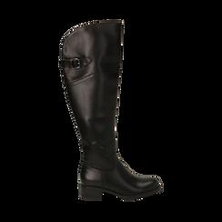 Stivali overknee neri, tacco 4 cm , Primadonna, 160621687EPNERO035, 001 preview