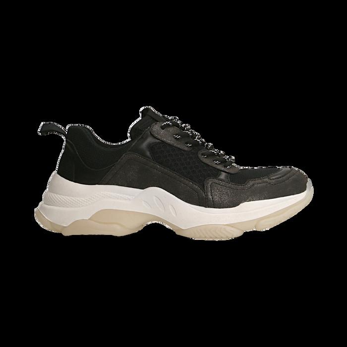 Sneakers nere dad shoes, Primadonna, 124180229TSNERO