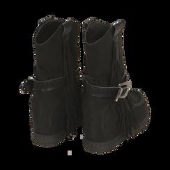 Stivali indiani neri in microfibra , Promozioni, 160750551MFNERO037, 004 preview