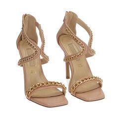 Sandales nude, talon 11 cm, Primadonna, 172114217EPNUDE037, 002a