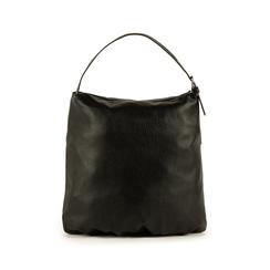 Maxi-bag nera in eco-pelle, Primadonna, 151990171EPNEROUNI, 003 preview