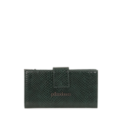 Portafogli verde stampa vipera , Primadonna, 165122158EVVERDUNI, 001a