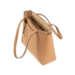 Maxi-bag nude in eco-pelle, Primadonna, 155768941EPNUDEUNI, 004 preview