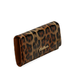 Portafogli leopard in vernice, Borse, 142200002VELEOPUNI, 002a
